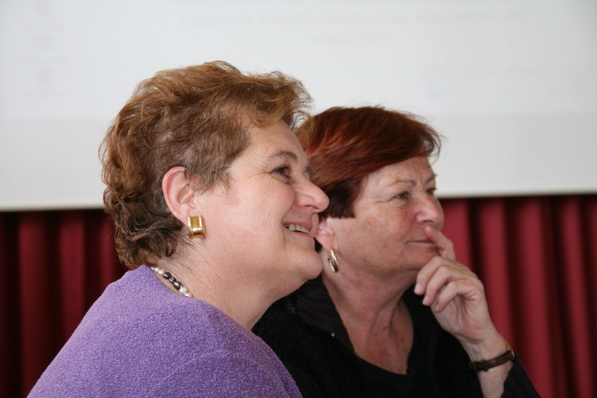 Marcella Piatelli (IT) und Irene Gerlofsma�(NL)